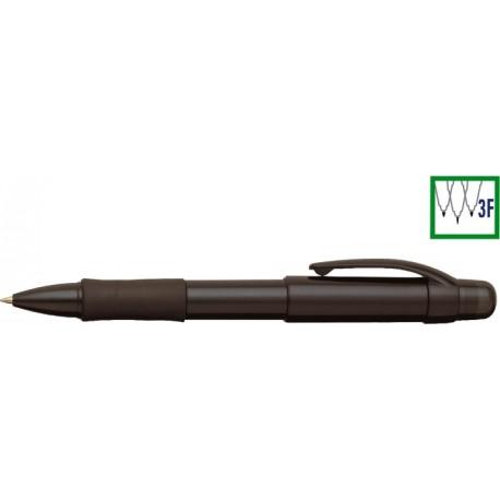 Pix cu doua culori / creion mecanic 0.5mm, cu rubber grip, PENAC Multi BBM - corp topaz