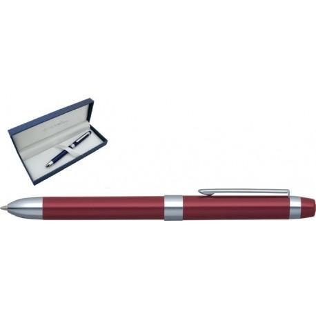 Pix multifunctional de lux PENAC Ele-P, doua culori + creion mecanic 0.5mm - bordeaux