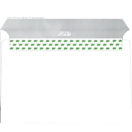 Plic C6 alb siliconic (114 x 162mm) ,personalizat 1 culoare
