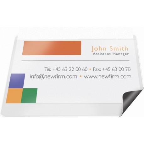 Folie magnetica pentru business card, 95 x 60mm, 4/set, PROBECO