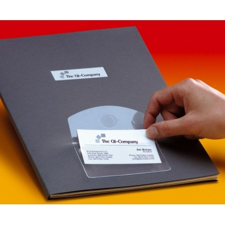 Buzunar autoadeziv carti vizita,105x60cm (10buc/set) SELF AD