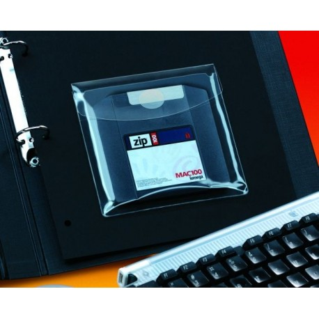 Buzunar autoad. pt.CD/DVD/dischete,126x126cm(6/set) SELF AD