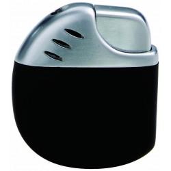 Round piezo lighter black