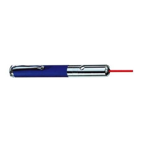 Indicator laser, bleumarin mat, cu clip si cap metalic, 11 x 2 x D1,3 cm