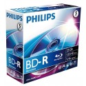 Blu-Ray disk Recordable, 25GB, 6x, Jewelcase, PHILIPS