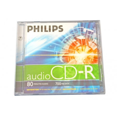 CD-Audio 80min, Jewelcase, PHILIPS