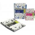 Project Book A5, 100 file 80g/mp, cu spirala dubla, coperti PP, PUKKA Confetti - matematica