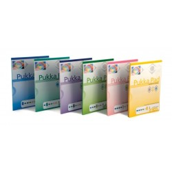 Blocnotes A4, 50 file, 80g/mp, hartie verde inchis, coperti carton, PUKKA Colour - dictando