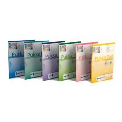 Blocnotes A4, 50 file, 80g/mp, hartie turcoaz, coperti carton, PUKKA Colour - dictando