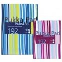 Registru A4, 96 file 90g/mp, coperti carton rigid, PUKKA Stripes - dictando