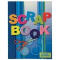Carte de decupat, 320 x 240mm, 24 file, 140g/mp, coperti carton, PUKKA Scrap - 6 culori asortate