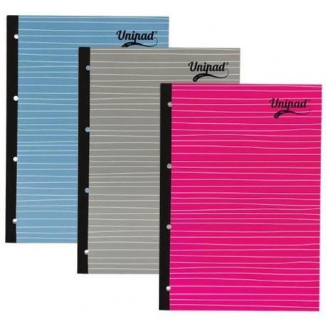 Caiet A4, 80 file, 60g/mp, coperti carton, PUKKA Unipad Refill - dictando