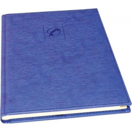 Agenda telefonica 16,2 x 21,8 cm, 96 file, AURORA Tempo - albastru