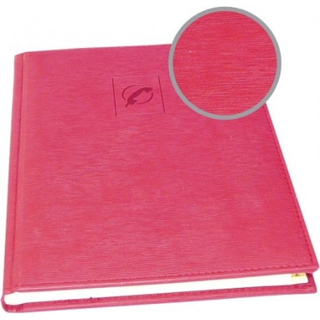 Agenda telefonica 16,2 x 21,8 cm, 96 file, AURORA Tempo - rosu