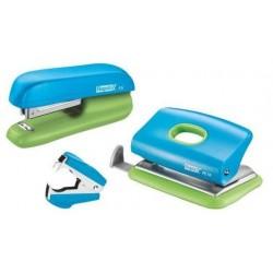 Set capsator RAPID F5, 10 coli si perforator FC 10 si decapsator - albastru/verde