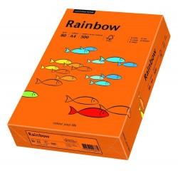 Hartie color,A4,80g/mp 500coli/top , RAINBOW - orange