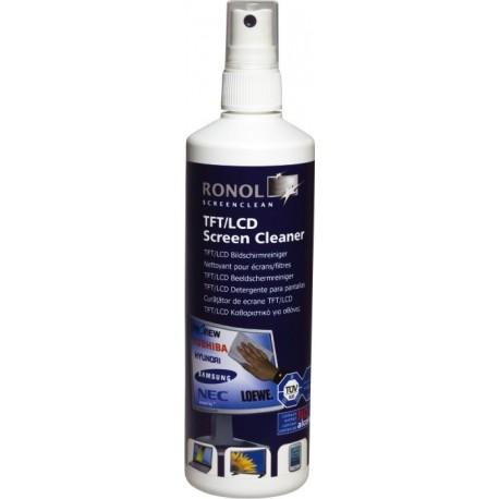 Spray curatare monitoare TFT/LCD, fara alcol, 250ml, RONOL