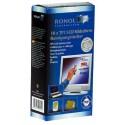 Servetele curatare monitoare TFT/LCD, 20/cutie (10umede/10uscate), RONOL