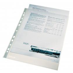 Folie protectie pentru documente, 40 microni, 100buc/set, ESSELTE - cristal