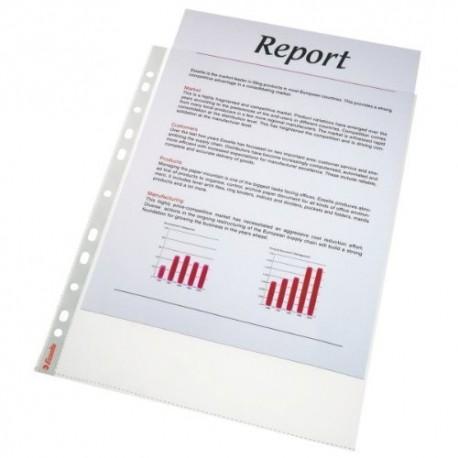 Folie protectie pentru documente, 43 microni, 25buc/set, ESSELTE - transparent