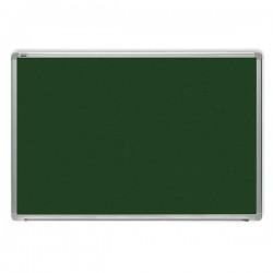 Tabla verde magnetica cu rama din aluminiu, 120 x 240 cm, pentru creta, Optima