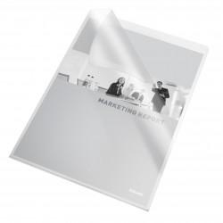 """Mapa """"L"""" pentru documente A4, 115 microni, 10buc/set, ESSELTE - transparent"""