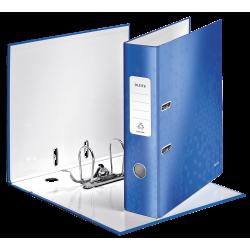 Biblioraft LEITZ 180 Wow, 85mm, plastic PP - albastru metalizat