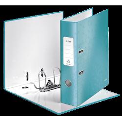 Biblioraft LEITZ 180 Wow, 85mm, plastic PP - turcoaz metalizat