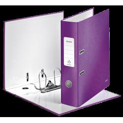 Biblioraft LEITZ 180 Wow, 85mm, plastic PP - mov metalizat