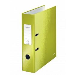 Biblioraft LEITZ 180 Wow, 85mm, plastic PP - verde metalizat