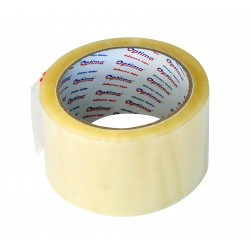 Banda adeziva 48mm x 66 y, 38 microni, Optima - transparent