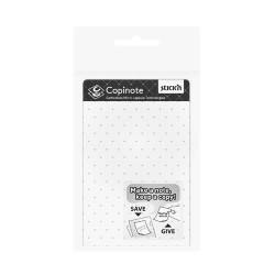 "Copinote 101 x 75 mm, 20 seturi/carnet, autocopiativ, Stick""n - alb"