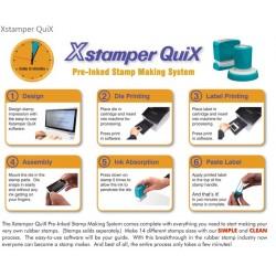 Imprimanta Xstamper QuiX, pentru facut stampile