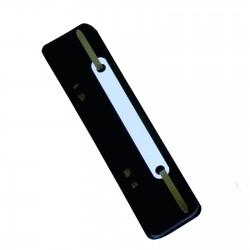 Alonje din plastic A5, 25/set, DONAU - negru