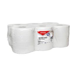 Prosop rola maxi hartie reciclata alb, 6 buc/set, 120m, 2 straturi, Office Products
