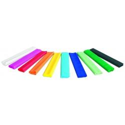 Rola hartie creponata, 25 x 200 cm, 10 culori/set, GIMBOO - culori asortate