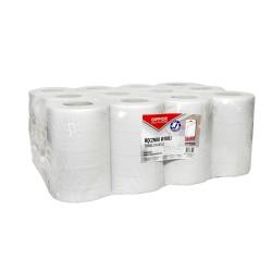 Prosop rola mini hartie reciclata alb,50m, 2 straturi, 12pcs, Office Products