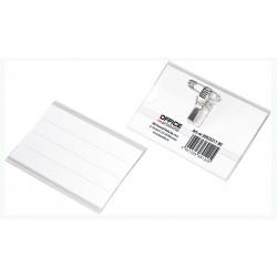 Ecuson cu ac si clip, 58 x 90 mm, Office Products