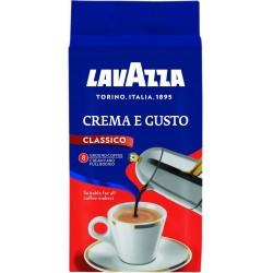 Cafea macinata, 250 gr./pachet, Lavazza crema e gusto
