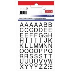 Etichete cu litere, A-Z, 10 x 10 mm, 162buc/set, TANEX