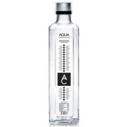 Apa plata sticla Aqua Carpatica 0.33 L, 12 buc/bax