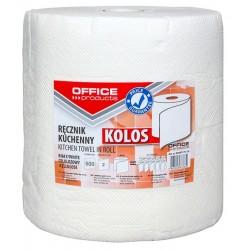 Prosop rola bucatarie Jumbo alb,100m, 2 straturi, Office Products