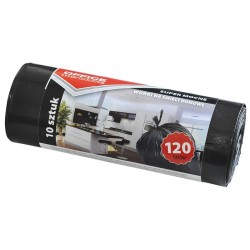 Saci menaj super rezistenti negri 120L, 10buc/rola, Office Products