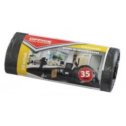 Saci menaj standard negri 35L, 50buc/rola, Office Products