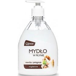Sapun lichid, 500ml, cu pompita, Clinex - cu miros de migdale