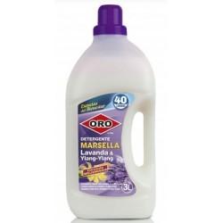 Detergent rufe, 3 litri, pentru masini automate, ORO Marsella - Lavander & Ylang-Ylang