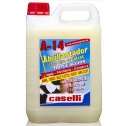 Detergent Caselli - A14, curatare, polishare si stralucire, universal, 5 litri - fara spuma