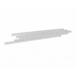 INELE DIN METAL 6,4 MM (alb/negru)