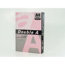 Hartie color pentru copiator A4, 80g/mp, 25coli/top, Double A - pastel pink