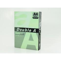 Hartie color pentru copiator A4, 80g/mp, 25coli/top, Double A - pastel green